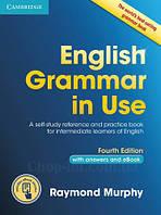 English Grammar in Use 4th Edition Intermediate + eBook + key (грамматика Raymond Murphy)