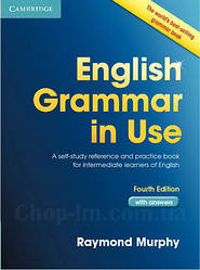 English Grammar in Use 4th Edition Intermediate + key (грамматика Raymond Murphy)