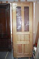 Дверное полотно, под покраску, в массиве сосны/ясеня