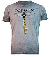 """Футболка Топ Ган Top Gun """"Logo"""" Tee TGM1705 (Grey)"""