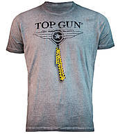 "Футболка Top Gun ""Logo"" Tee (серая)"