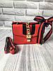 Сумка женская через плечо в стиле Gucci | Красная, фото 6