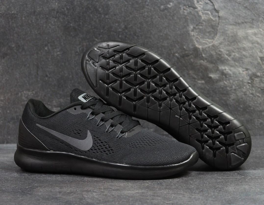 Кроссовки мужские Nike Free Run black купить в Украине оптом и в розницу e4f535bf52bed