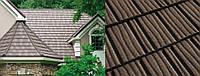 Коричневая Композитная черепица Roser Stone Wood Timber Wood