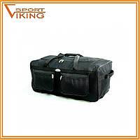 Дорожная сумка RGL на колесах А3 64 л. Цвет черный., фото 1