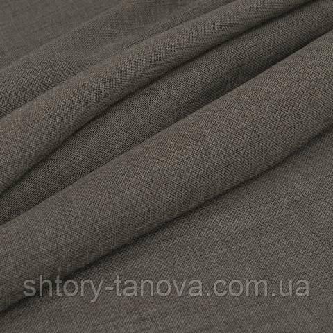 Тюль сетка, светло-коричневый