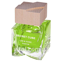 """Освежитель воздуха Tasotti (16/48)-5 аэрозоль """"Secret Cube"""" Lemon Squash (лимон), объем 50 мл, освежитель воздуха для автомобиля, освежитель для"""