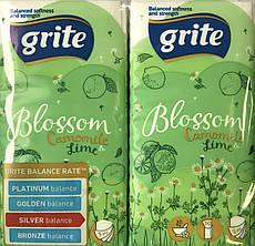 Бумажные носовые платки Grite Camomile Blossom&Lime 4 шт/уп