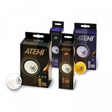Мячики для настольного тенниса ATEMI *** 6 штук