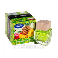Освежитель воздуха Tasotti (16/48)-14 аэрозоль Secret Cube Ananas Apple (ананас, яблоко), объем 50 мл, освежитель для автомобиля, освежитель для