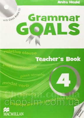 Grammar Goals 4 Teacher's Book with Class Audio CD / книга для учителя