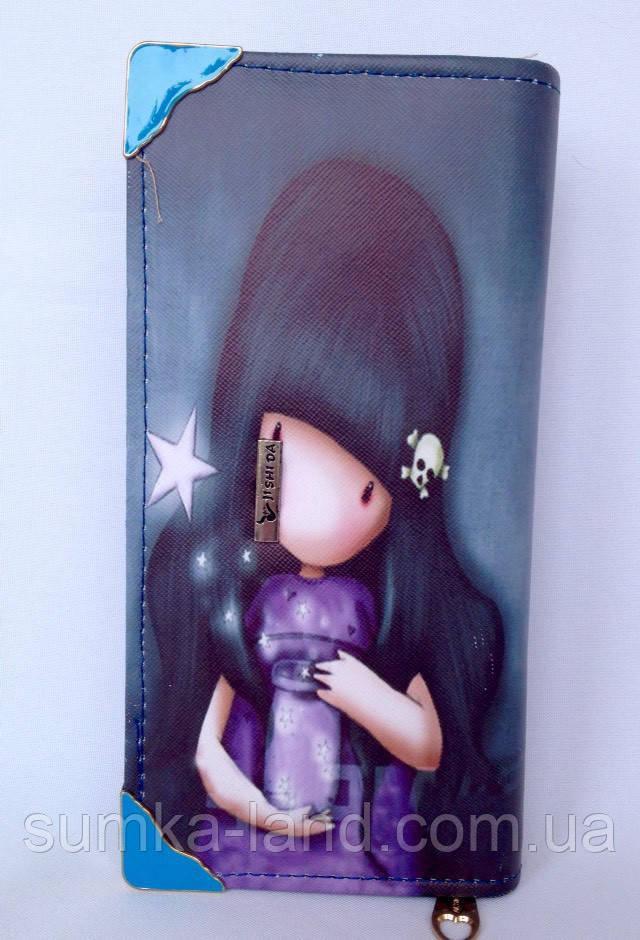 Детский кошелек для девочек на монии