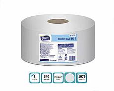 Бумага туалетная Grite Джамбо белоснежный MAXI 6 рулонов