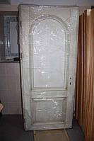 Дверное полотно, в массиве ясеня, патина, под старину
