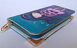 Детский кошелек для девочек на монии на 2 отделения внутри, фото 3