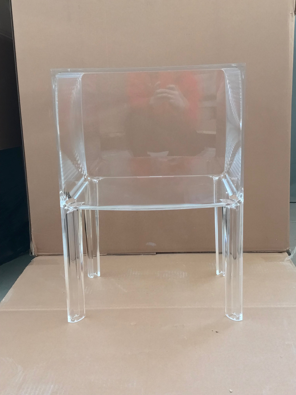Скляна тумба Kartell W40xH57xD37cm