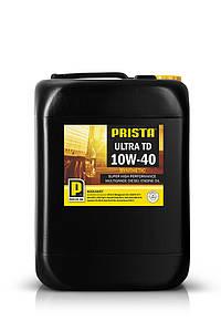 Моторное масло Prista Ultra TD SAE 10W-40, 20 л, CI-4 E4/E7