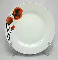 "Набор фарфоровых  тарелок TD-8 ""МАКИ"", 6 шт."