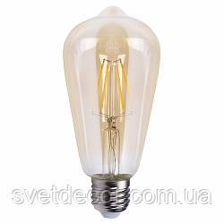 Светодиодная лампа LED Feron  LB-764 ST 64золото 4W  2700K