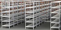 Стеллажи металлические СМ, нагрузка на полку 100-300 кг, более 50 комплектаций