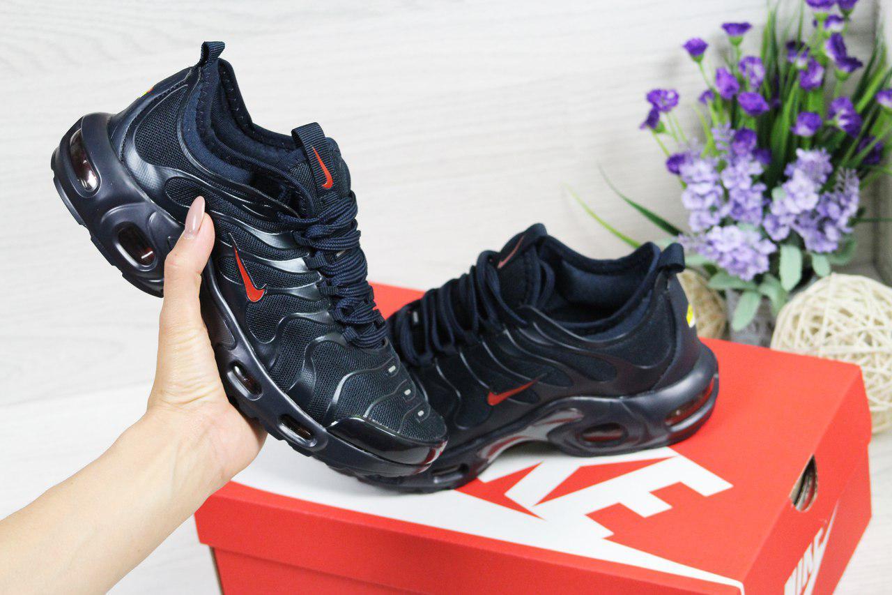 huge selection of ec0af a7efe Кроссовки женские Nike Air Max 95 TN, темно-синие (Реплика): продажа, цена  в Днепре. ...