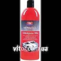 Автошампунь Dr.Marcus Shampoo Wax SW-327 с воском, объем 1 л, средство для очистки, чистящее средство для машины