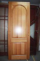 Дверное полотно, массив сосны, тон/лак