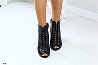Женские босоножки на удобном каблуке, фото 1