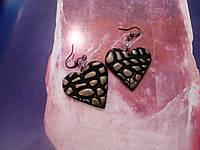 Серьги из полимерной глины\пластики ручной работы\Hand Made. Exclusive!!!, фото 1