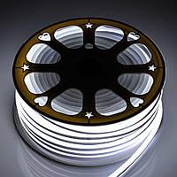 Светодиодный неон гибкий Белый 12В