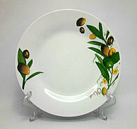 """Набор фарфоровых  тарелок TD-8 """"Оливки"""", 6 шт."""