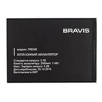 Аккумулятор для Bravis TREND 2000mA 100%оригинал опт и розница