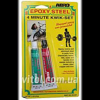 Эпоксидная смола ABRO ES 507 2 компон (Б), вес 57 гр, автохимия для ухода за авто,  автохимия для ухода за машиной