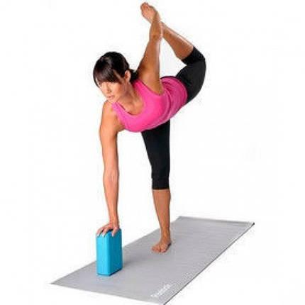 Кирпичик (блок опорный) для йоги, пена EVA  23см*15см*7,5см., фото 2