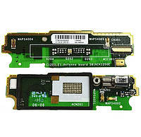 Шлейф для Sony C1904 Xperia M, C1905, C2004, C2005, с микрофоном, с виброзвонком, плата