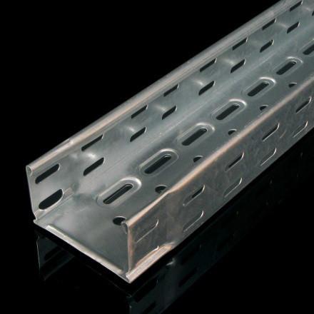 Перфорированный металлический лоток KZI 60х500х1