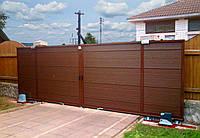 Откатные ворота Alutech 3500x2210