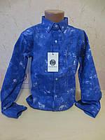 Подростковая рубашка для мальчиков 140,146,152,158,164,170рост