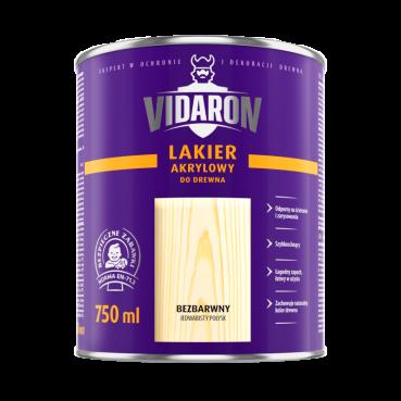 Лак акриловий для деревини (шовков. глянець) 0,75л Vidaron