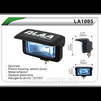 Фары дополнительные для автомобиля DLAA LA 1005 RY/H3-12V-55W, размер 160*83 мм, крышка, автооптика, автомобильные фары