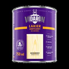 Лак акриловий для деревини (шовков. глянець) 2,5л Vidaron