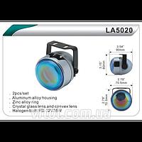 Фары дополнительные для автомобиля DLAA LA 5020 W, H3, 12V, 55W, длина 70 мм, автооптика, автомобильные фары