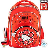 Рюкзак Школьный Каркасный Kite Hello Kitty (HK18-525S)Для Младших классов (1-3)