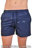 Шорты пляжные мужские BURBERRY 9011 тёмно-синие, фото 1