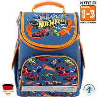 Школьный Каркасный Рюкзак Kite Hot Wheels (HW18-500S)Для Младших классов (1-3)