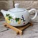 Оригинальная бамбуковая подставка под чайные пиалы, фото 2