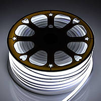 Светодиодный неон гибкий Белый 220В