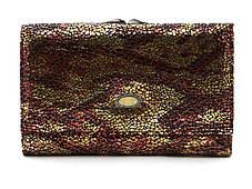 Компактный элитный женский кошелек с кожи лазерной обработки Bodenschatz art. BOD001-96 разные цвета