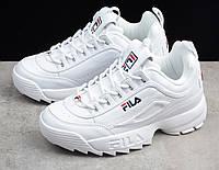 Кросівки білі FILA Disruptor 2