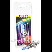 Галогенная лампа для автомобильных фар PULSO LP-10551 H1/P14.5S 12v55w super white/блистер, автомобильная лампа, лампа для авто